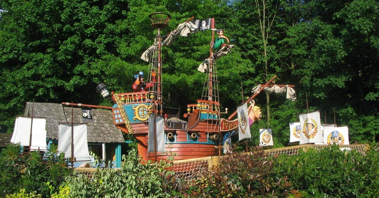 Peter Pan in Bellewaerde
